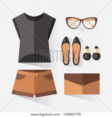 Woman Clothing Set