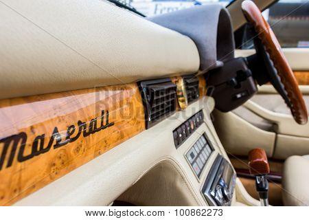 Italian Sports Car Interior