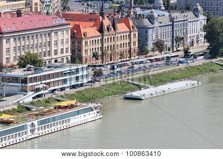 Bratislava Danube Embankment