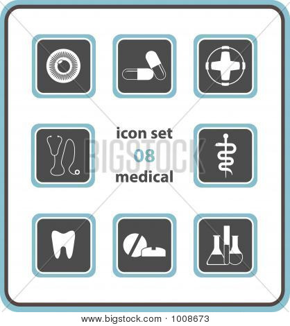 Vector Icon Set 08: Medical