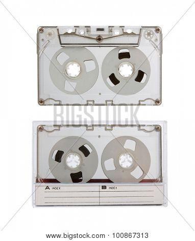 Vintage audio cassette. MC