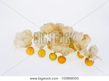 Husked Physalis Fruits With Husks
