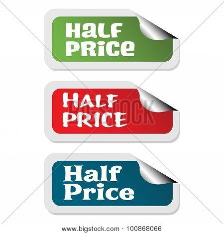 Half price stickers