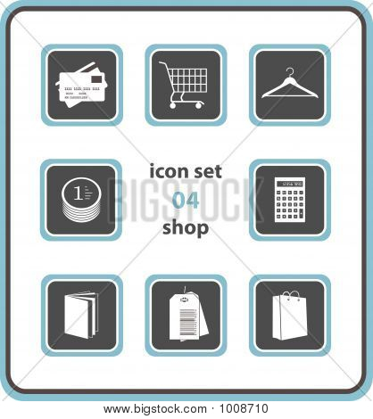 Vector Icon Set 04: Shop