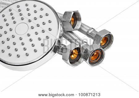 Plumbing hosepipe and showerhead
