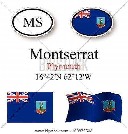 Montserrat Icons Set