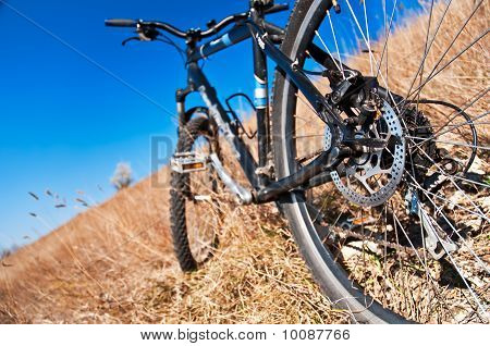 Bike On The Hill