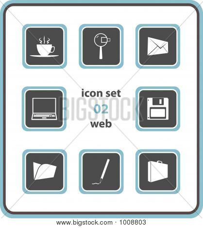 Vector Icon Set 02: Web