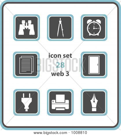 Vector Icon Set 28: Web3