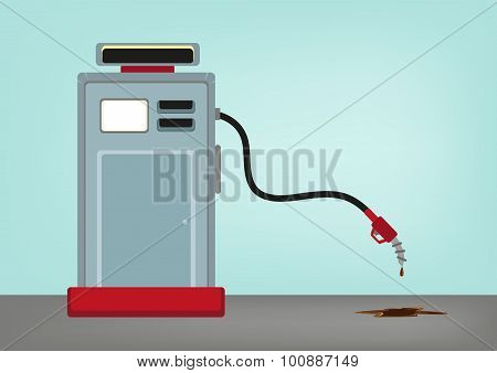 Oil Crisis Concept. Low Price of Gas.