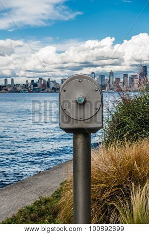 Seattle And Telescope