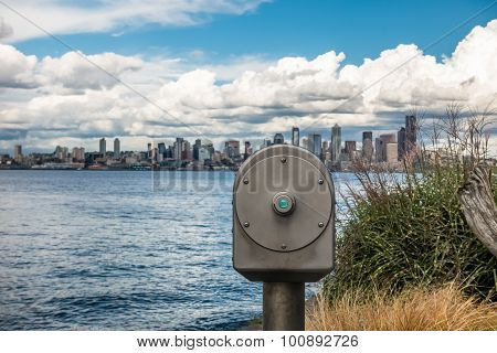 Seattle And Telescope 2