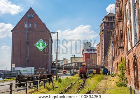 Harbor Of Bremen, West Of The City - Industrial Quarter