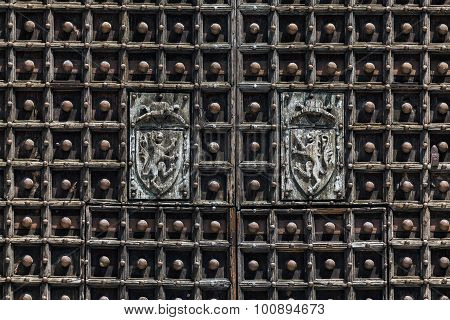 Naples Cathedral Doors