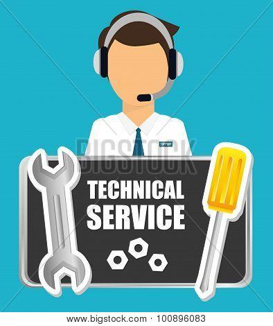 Technical service design