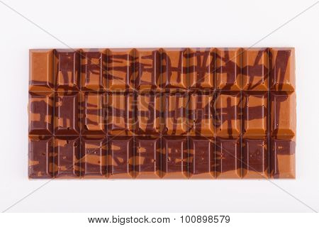 Yummy milk chocolate bar