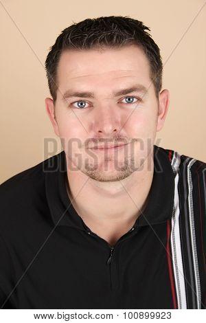 Brunette Male