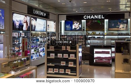 Lancome And Chanel Store Display