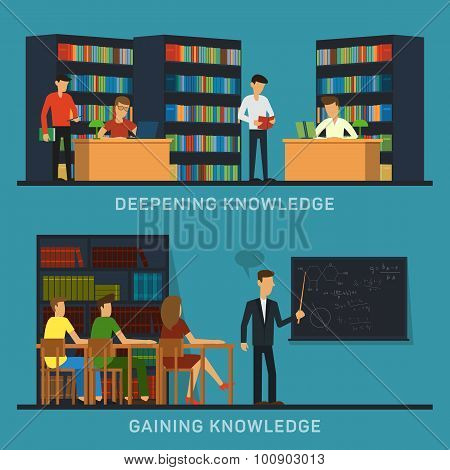 Science and education college students