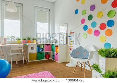Playing Room For Child