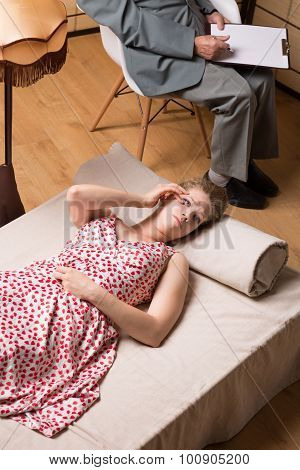 Psychotherapist And Nymphomaniac Woman