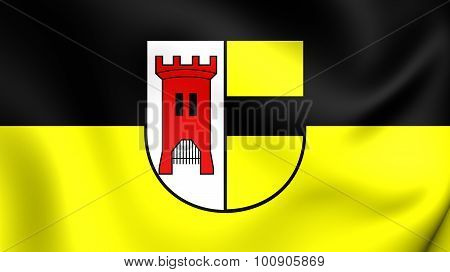 Flag Of Moers City (north Rhine-westphalia), Germany.
