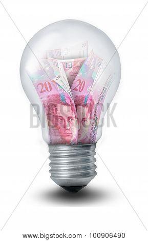 Money Lighbulb