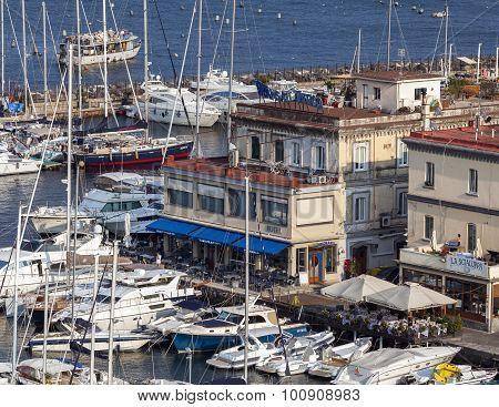 Borgo Marinaro In Naples, Italy