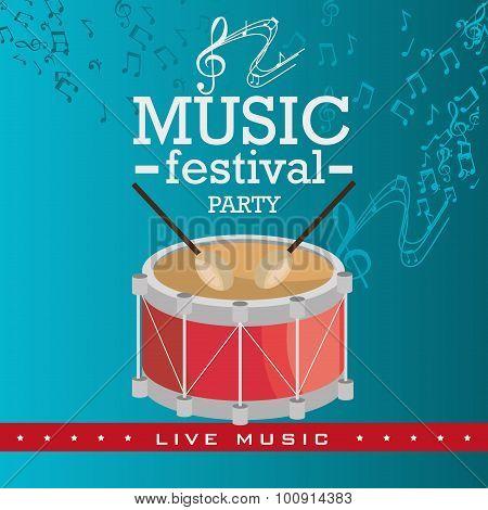 Music festival design.