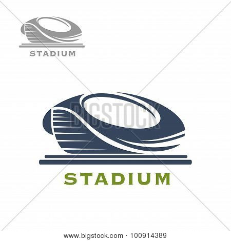 Sport arena or stadium icon