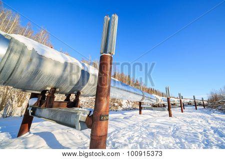 Big Pipe At Alaska, Fairbanks