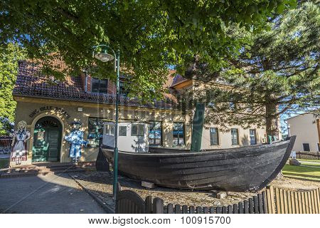Fishing Museum In The Old Town Of Zempin