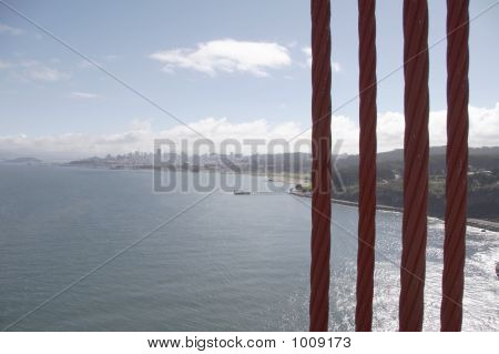 Cables From Golden Gate Bridge