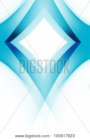 Abstract Background Blue 3