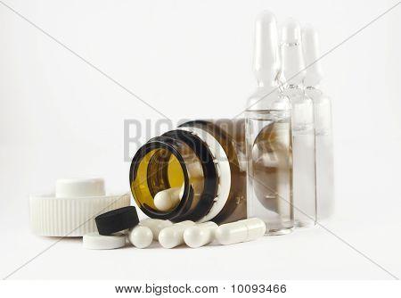 Pills And Ampulas