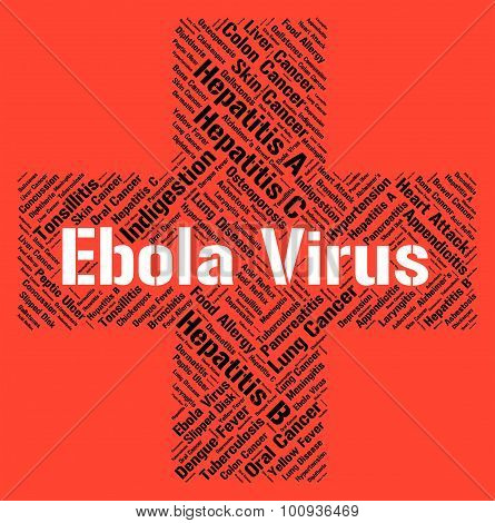 Ebola Virus Represents Microbe Pathogens And Disease