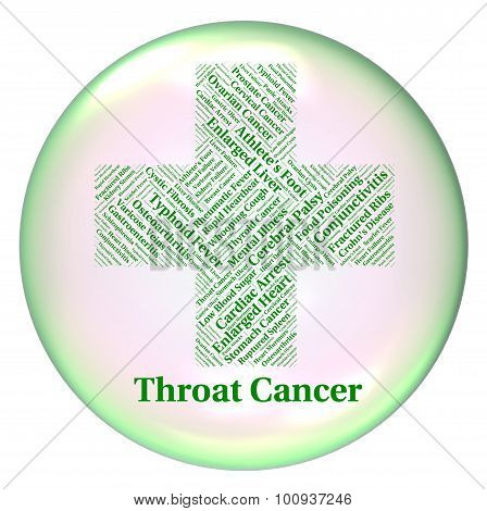 Throat Cancer Represents Malignant Growth And Cancers