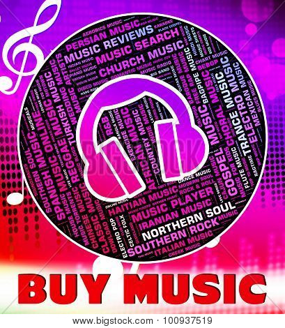 Buy Music Indicates Sound Track And Acoustic