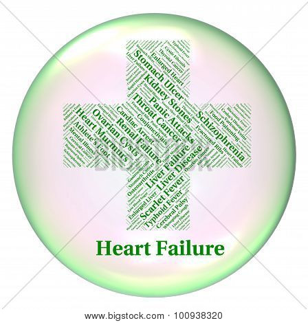 Heart Failure Shows Ailments Hf And Attack
