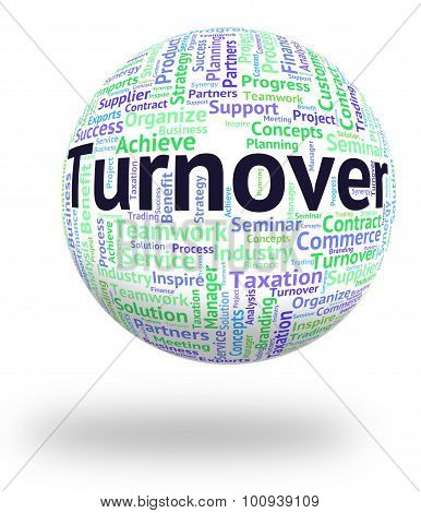 Turnover Word Means Gross Sales And Income