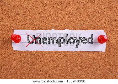 Employed Not Unemployed