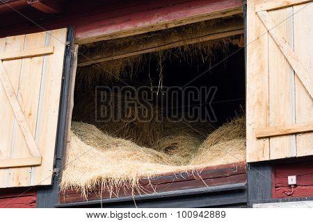 Hay On The Loft
