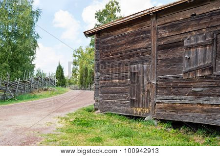 Roadside Storagebuilding