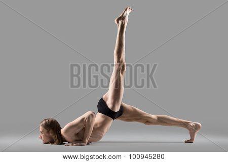 Yoga Eka Pada Salabhasana Pose