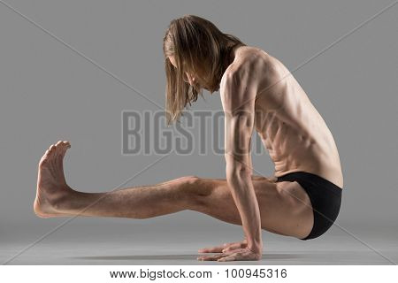 L Sit Yoga Pose