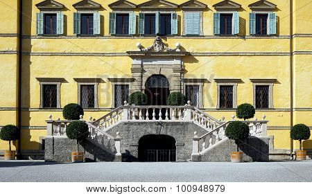Hellbrunn Palace Entrance And Stair