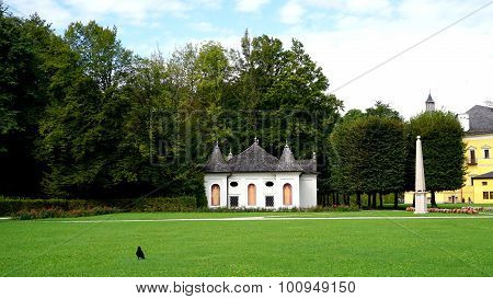 Hellbrunn Palace And Landscape