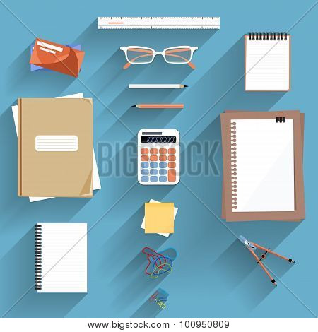 Calculator, Ruler and Paper