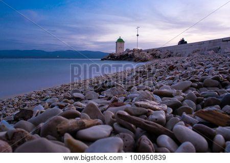Lighthouse on Brac, Croatia