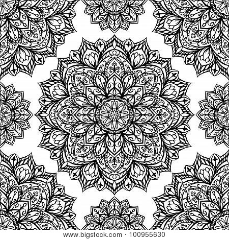 Pattern Of Mandalas.